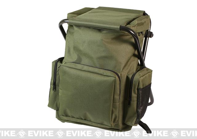 Rothco Tactical Back Pack Stool - Olive Drab