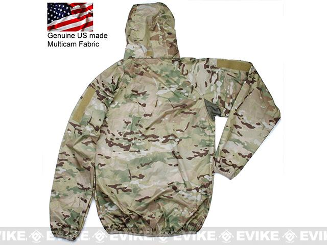 Rasputin Stowable Lightweight Windbreaker Jacket - Multicam (Size: Large)