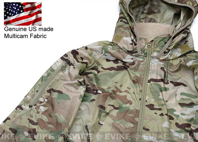 Rasputin Stowable Lightweight Windbreaker Jacket - Multicam (Size: Medium)