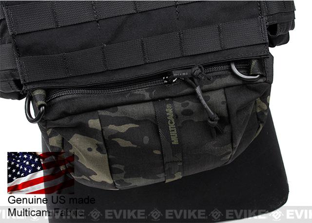 Rasputin Hook and Loop ADDON Plate Carrier Fanny Pack - Multicam Black