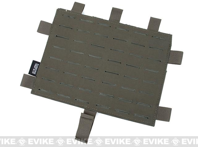 G Rasputin Laser Cut MOLLE Panel for AVS & JPC2.0 - Ranger Green