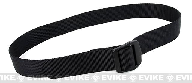 Rasputin URB 1.5 Nylon Uniform Belt - Black (Size: Large)