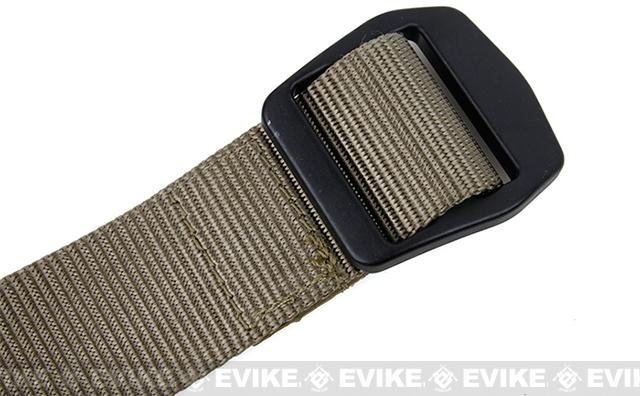 Rasputin URB 1.5 Nylon Uniform Belt - Dark Earth (Size: Medium)