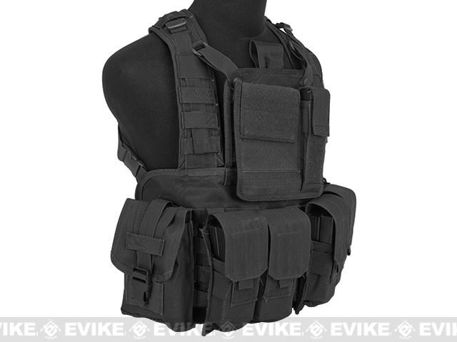 Matrix Special Operations RRV Style Chest Rig - Black