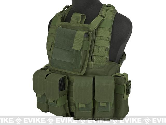 Matrix Special Operations RRV Style Chest Rig - OD Green