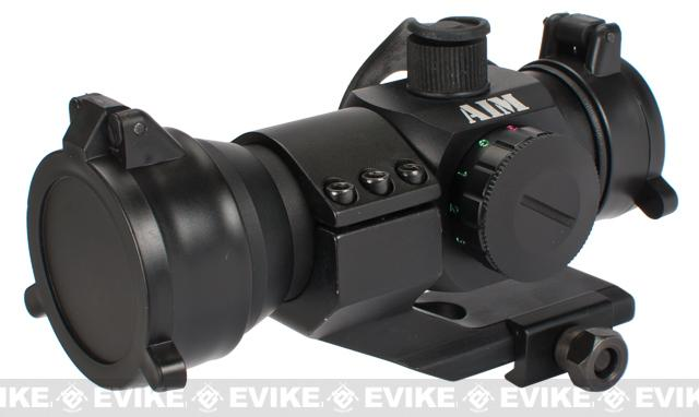 Aim Spec. Op. 1.5x30 Red Dot Sight Scope w/ Magnifier Flip-up Lens cover & QD Cantilever Mount