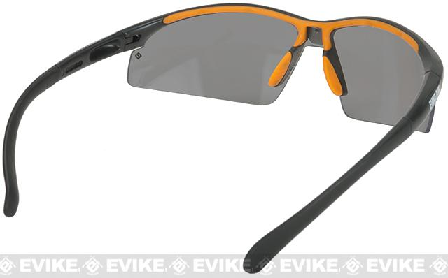 Evike.com Sparticus ANSI Rated Tactical Shooting Glasses - Smoked