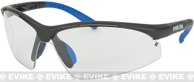 Evike.com Sparticus ANSI Rated Tactical Shooting Glasses (Color: Clear)