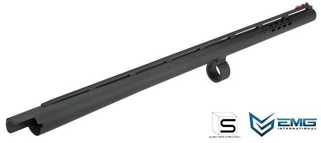 "EMG Licensed SAI 19"" Aluminum M870 Barrel with Fiber Optic Front Sight"