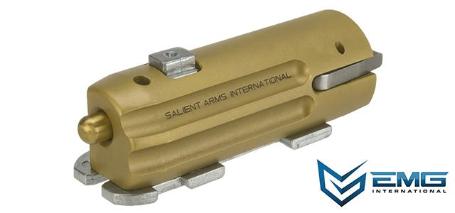 Sailent Arms/EMG Heavy Duty Cast Steel Bolt for SAI 870 Airsoft Shotgun - Titanium Nitride Gold