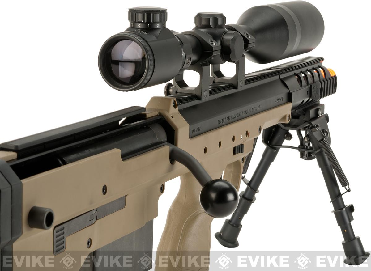 Pre-Order ETA October 2016 Desert Tech SRS-A1 16 Covert Spring Powered Bullpup Airsoft Sniper Rifle by Silverback Airsoft - Flat Dark Earth