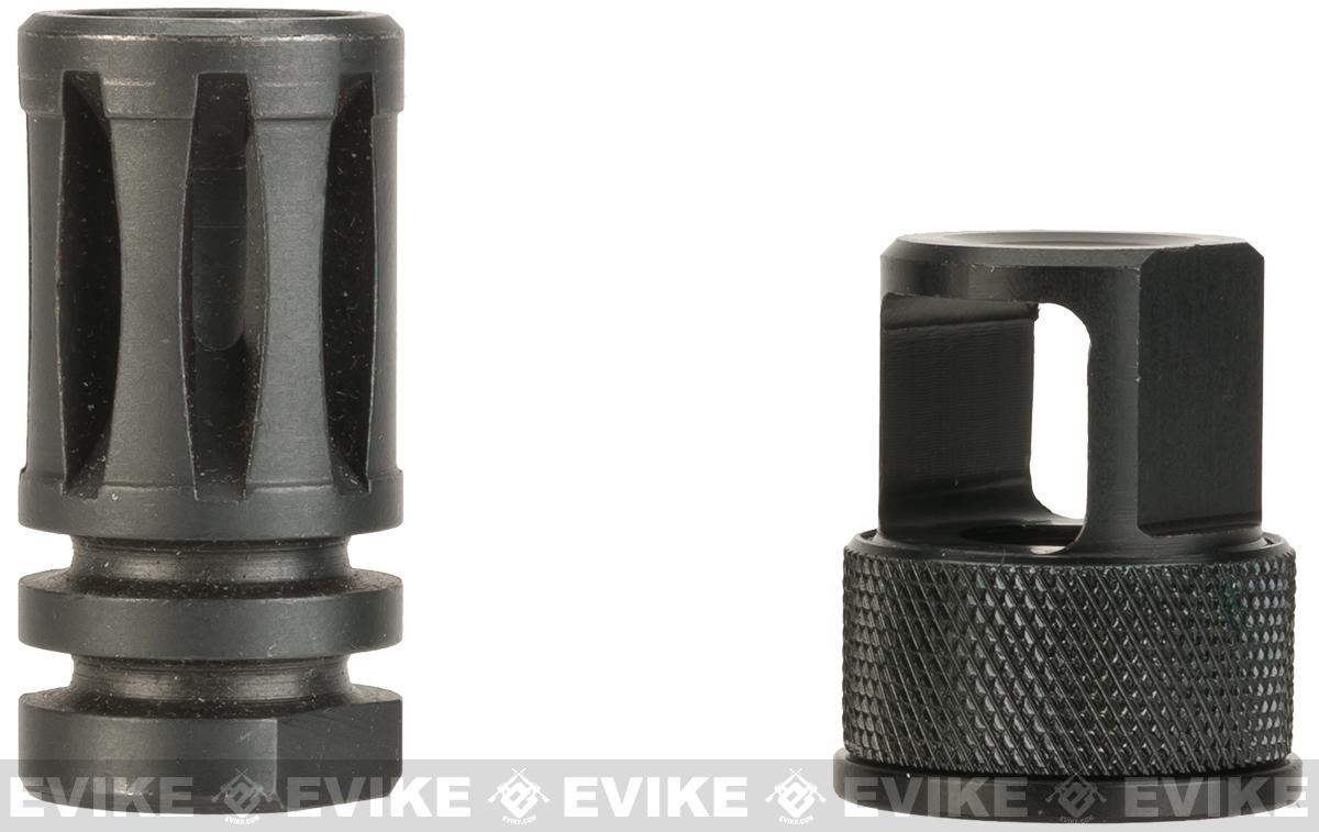 Silverback Airsoft SRS .308 Style Flashhider - 14mm Negative