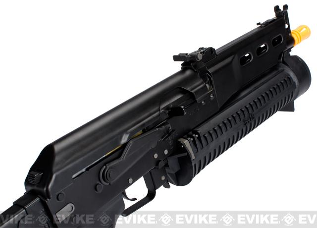 PP-19 AK Bizon-2 Bison Full Size Airsoft AEG Rifle by S&T CYMA Full Metal Lipo Ready Version - (Package: Gun Only)