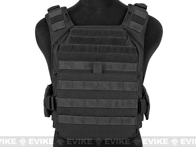 Shellback Tactical Banshee (QD) Quick Deployment Rifle Plate Carrier - Black