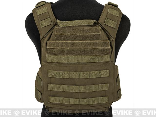 Shellback Tactical Banshee (QD) Quick Deployment Rifle Plate Carrier - Coyote Tan