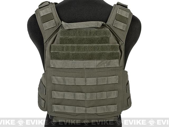 z Shellback Tactical Banshee (QD) Quick Deployment Rifle Plate Carrier - Ranger Green