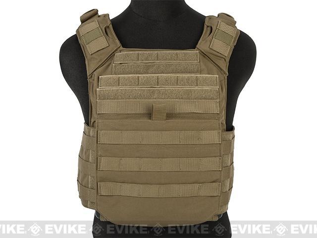 Shellback Tactical Banshee Rifle Plate Carrier - Coyote Tan