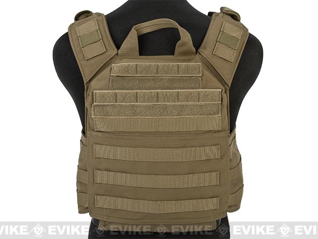Shellback Tactical Banshee Rifle Plate Carrier - Coyote Tan