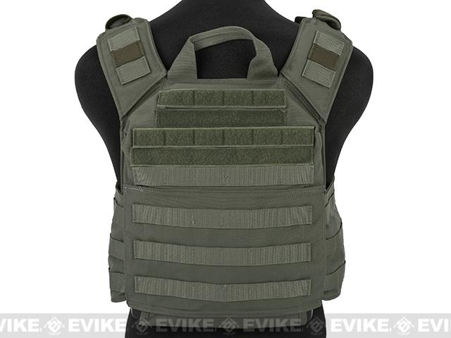 Shellback Tactical Banshee Rifle Plate Carrier - Ranger Green