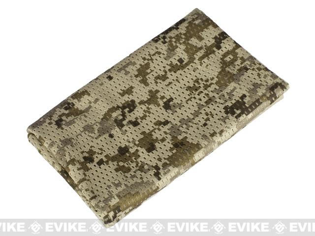 Matrix Spec. Ops High Speed Sniper Veil Head Wrap Scarf - Digital Desert Marpat