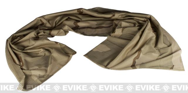 Matrix Spec. Ops High Speed Sniper Veil Head Wrap Scarf - Desert Camo