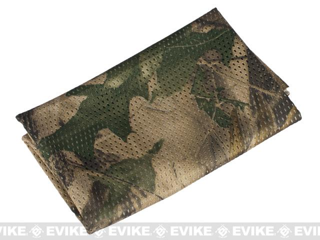 Matrix Spec. Ops High Speed Sniper Veil Head Wrap Scarf - Forest / Hunter Camo