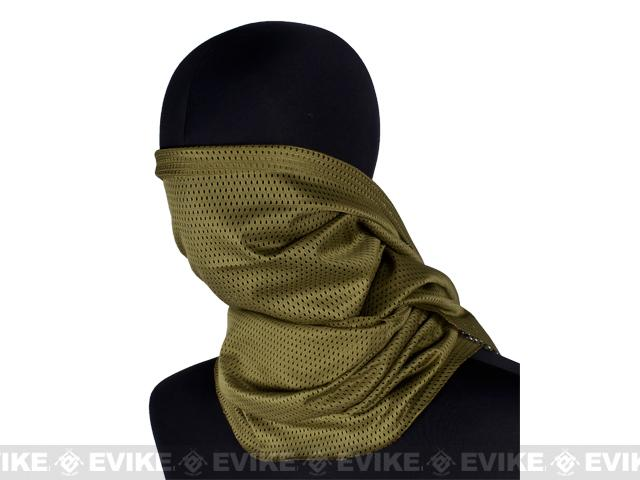 Matrix Spec. Ops High Speed Sniper Veil Head Wrap Scarf - Woodland Camo