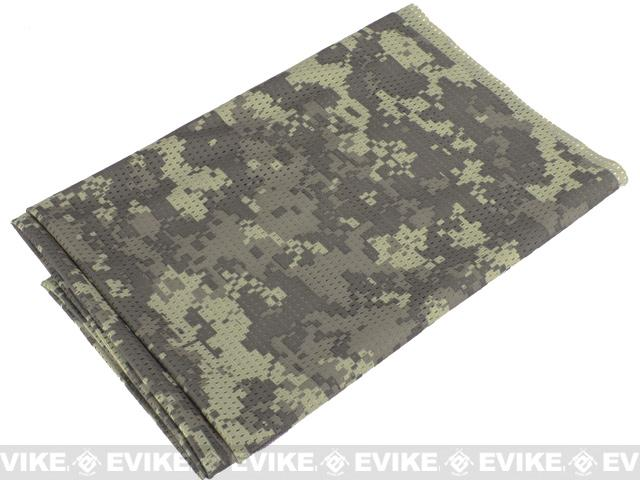 Matrix XL Spec. Ops High Speed Sniper Veil Head Wrap Scarf - ACU Camo