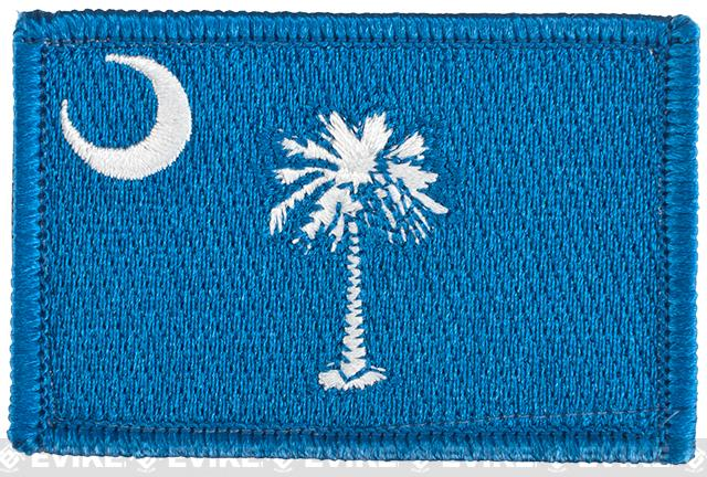Evike.com Tactical Embroidered Flag Patch (State: South Carolina The Palmetto State)