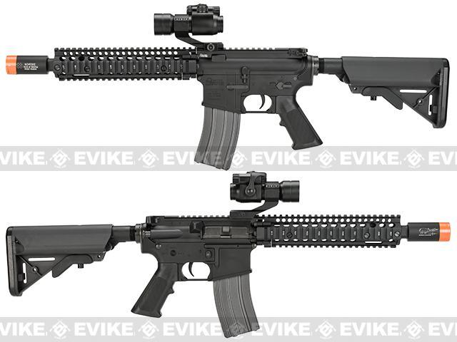z SOCOM Gear Daniel Defense MK18 9.5 Tactical M4 SBR Airsoft AEG Rifle w/ Noveske KX3 Muzzle Brake - Black