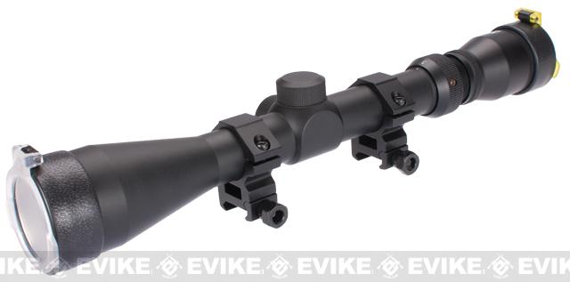 Real Steel Basic 3-9x40 Tactical Scope w/ Mount Rings by AIM / Matrix / NcStar