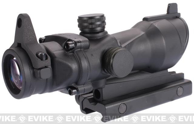 G&P 4x32 Rifle Scope with Integrated Iron Sight & Weaver Mount