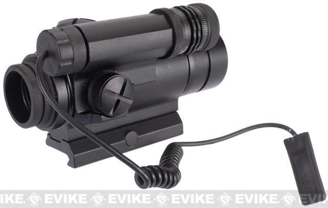 Matrix QD Red / Green Dot Sight Scope w/ Integrated Laser Aiming Module