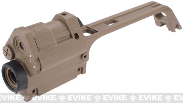 G36V Type Sniper Carrying Handle w/ Integrated Red Dot Sight & 3.5X Scope For G36 Series Airsoft AEG