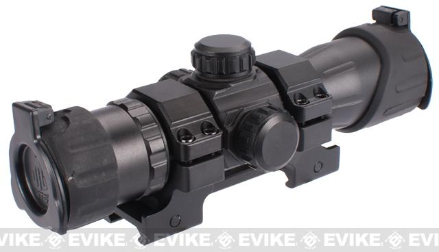 UTG 6.4 ITA Red/Green Dot Sight with Integral QD Mount & Flip-open Lens Caps