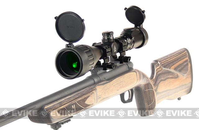 UTG 1 3-9X50 AO True Hunter IE Scope w/Zero Locking/Reset WE, Rings & Sunshade