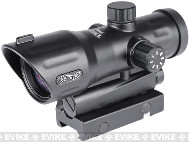 Walther Real Steel Grade PS-55 Metal Illuminated Cross Dot Sight Scope