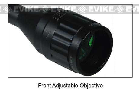 z UTG 4-16x40 Illuminated Range Finder Rifle Scope w/ Scope Mount
