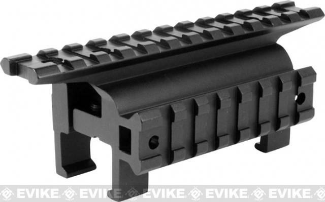 AIM MP5 / G3 High Profile Claw Scope Scope Mount Base with Side Rail
