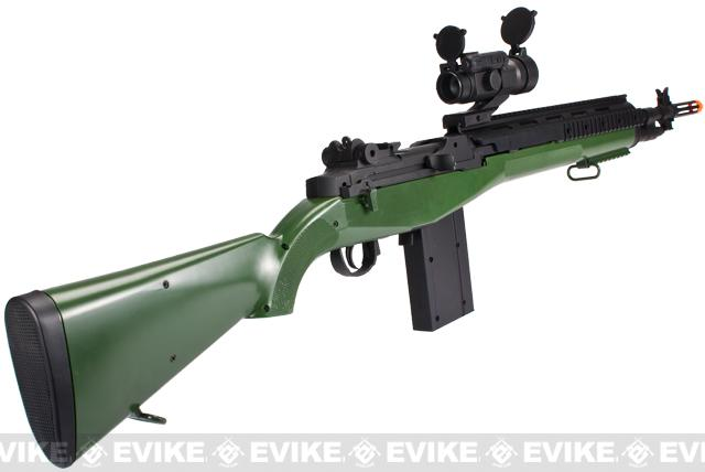 z TSD M14 Soc16 Full Size Airsoft Sniper Rifle - OD Green