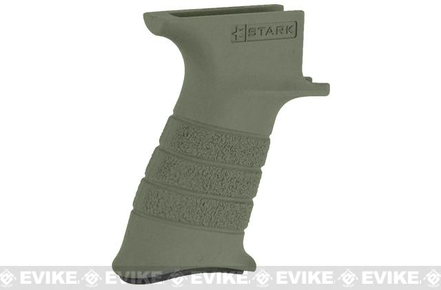 Stark Equipment AK SE1 Grip for AK Series Airsoft GBB and Real Steel AK Rifles - Green