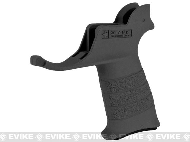 Stark Equipment AR SE1 Grip for M4 / M16 Series Airsoft GBB and Real Steel AR15 Rifles - Black