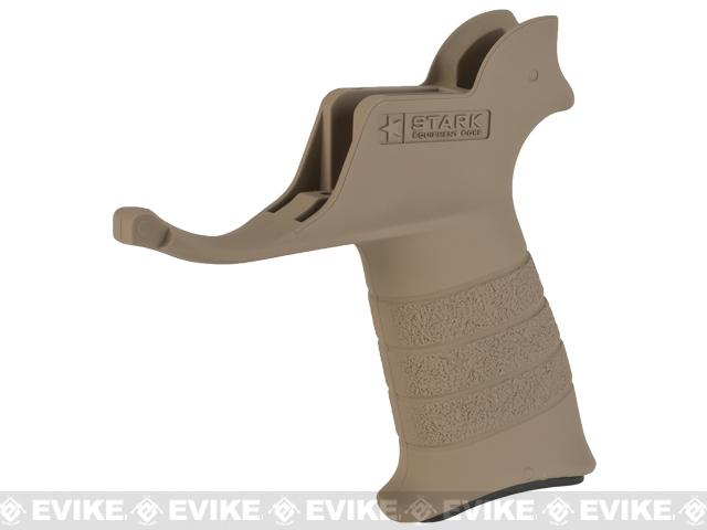 Stark Equipment AR SE1 Grip for M4 / M16 Series Airsoft GBB and Real Steel AR15 Rifles - Earth