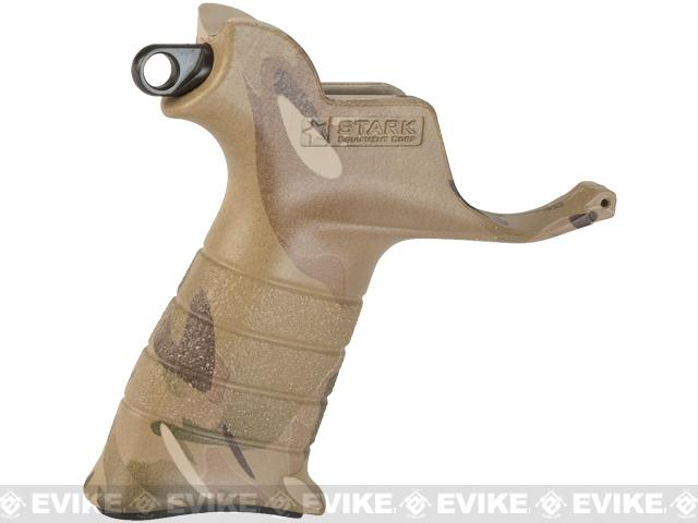 Stark Equipment AR SE2 Grip for M4 / M16 Series Airsoft GBB and Real Steel AR15 Rifles - Sling Hook / Multicam