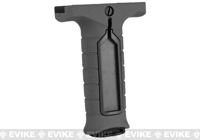 Stark Equipment SE3 Forward Vertical Grip with Pressure Switch Pocket - Black