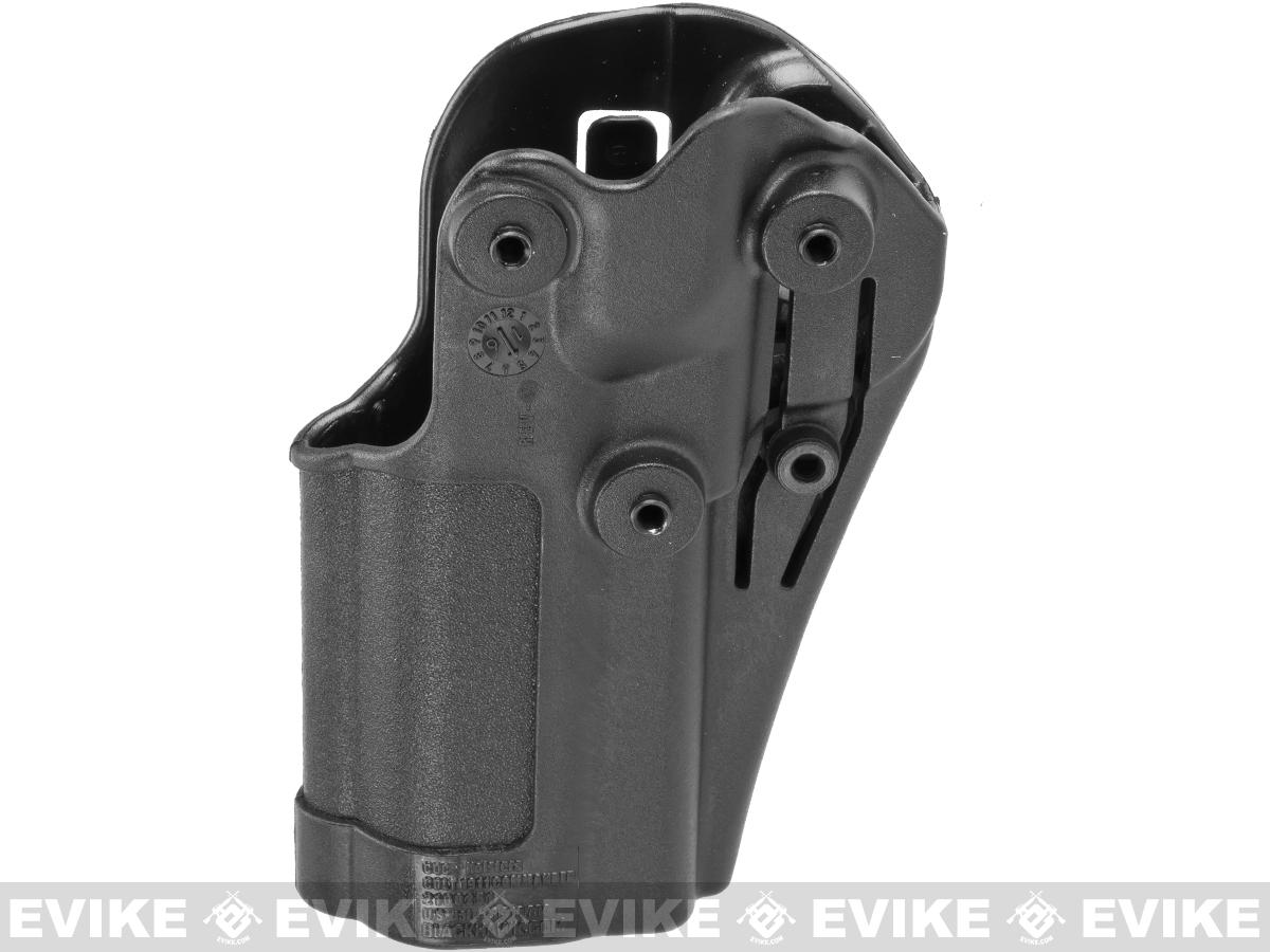 Blackhawk! Serpa CQC Concealment Holster for Colt Commander 1911s and Other Similar Handguns - Black (Hand: Right)