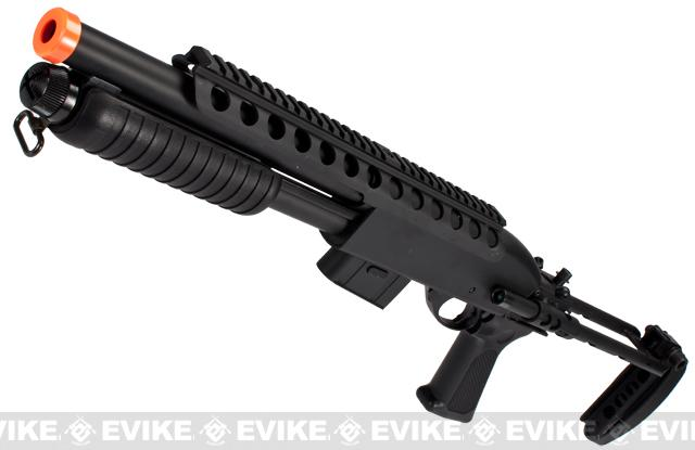 Bone Yard - Bravo Full Metal Tac Shot Airsoft Shotgun (Store Display, Non-Working Or Refurbished Models)