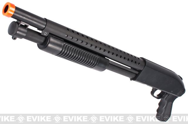 Bone Yard - AGM/DE M500 Airsoft Full Size Shotgun (Store Display, Non-Working Or Refurbished Models)