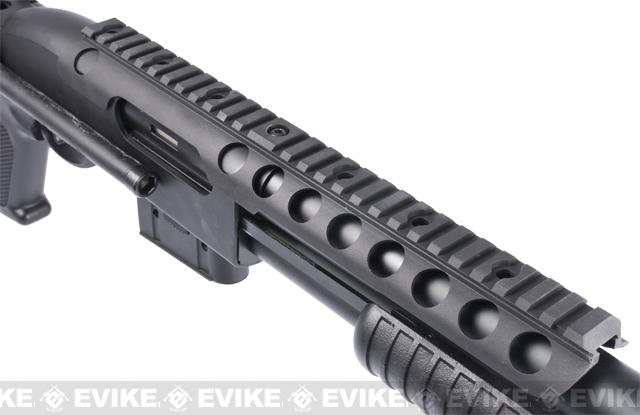 A&K Full Metal M870 Tactical Tac Shot Airsoft Shotgun (400 FPS)