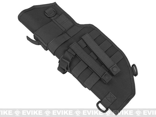 Laylax Battle Style Sheath / Holster for MP7A1 Airsoft Sub Machine Guns - Black